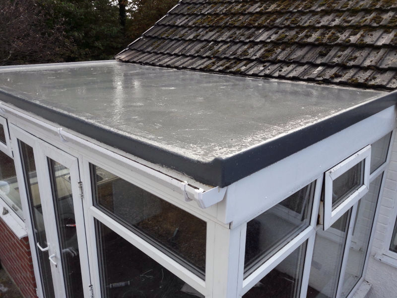 Flat Roof Conservatory Replacement In Blackpool