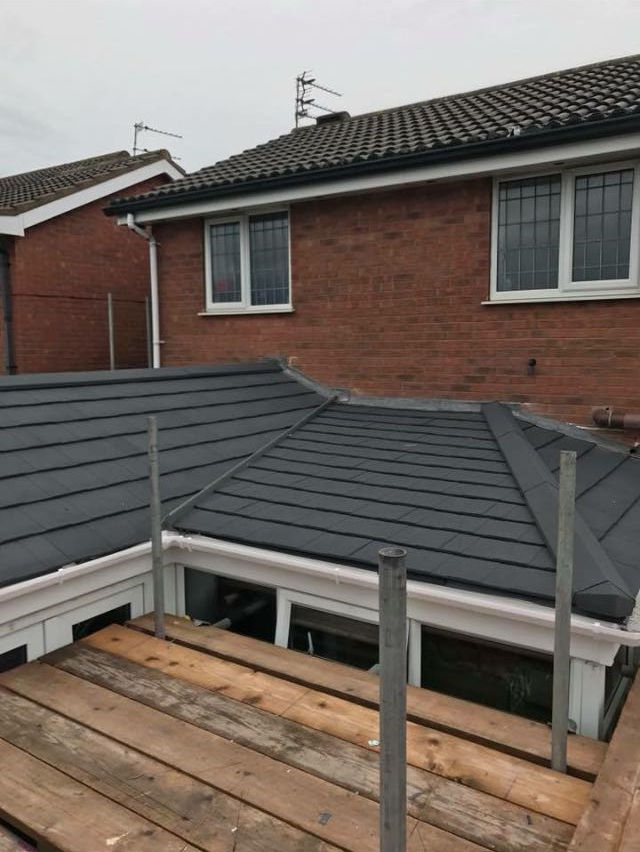 New conservatory roof in Thornton Cleveleys