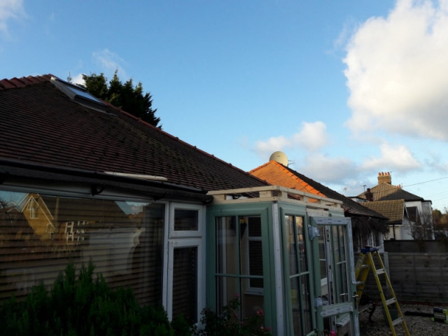 Installing a new porch in Thornton Cleveleys