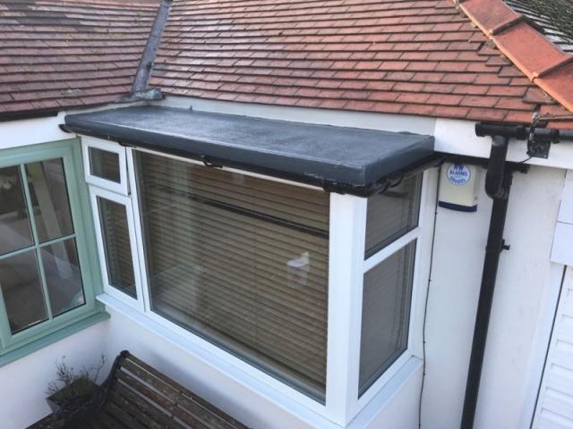new fiberglass roof