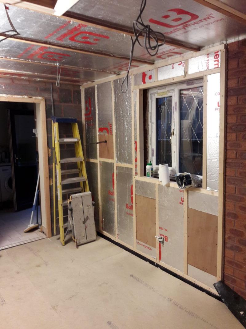 Garage Conversion In Poulton Le Fylde Replacement