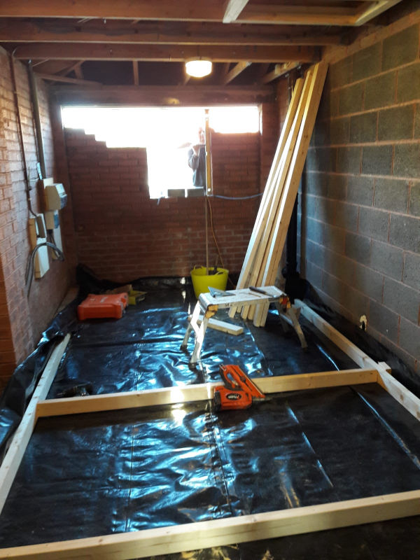 Garage Conversion In Poulton Le Fylde Replacement Conservatory