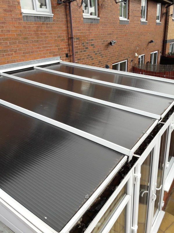New Conservatory Tiled Roof In Blackpool Replacement