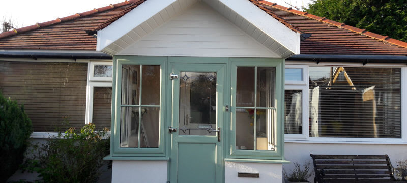 new porch in Thornton Cleveleys