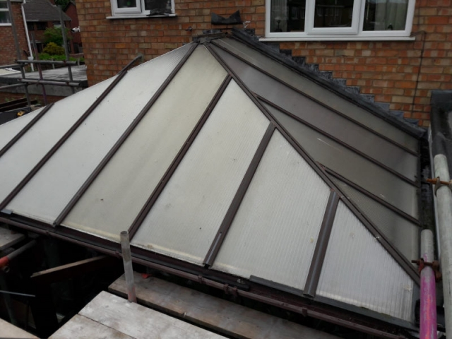 New conservatory roof in Bispham - Replacement ...