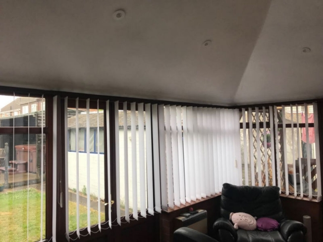 New conservatory roof in Bispham