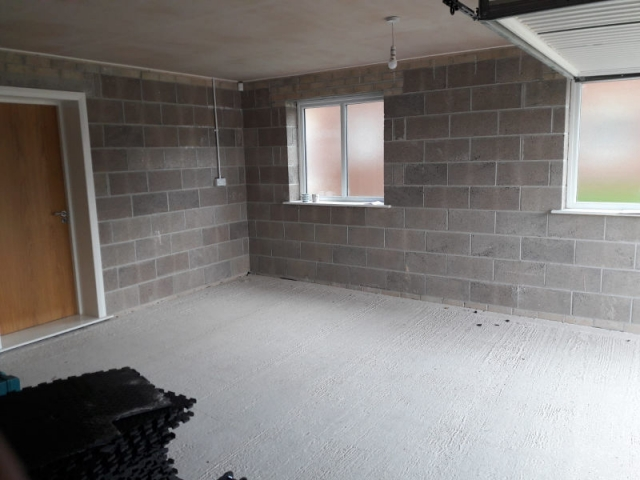 Garage conversion in Poulton-Le-Fylde