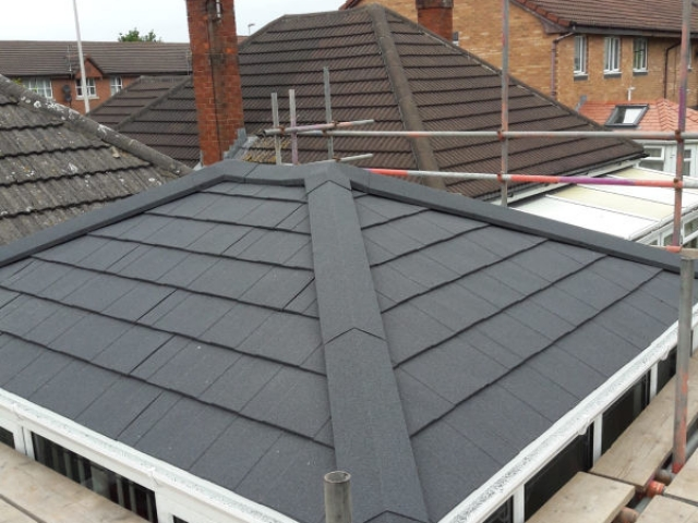 New Replacement conservatory roof in Blackpool