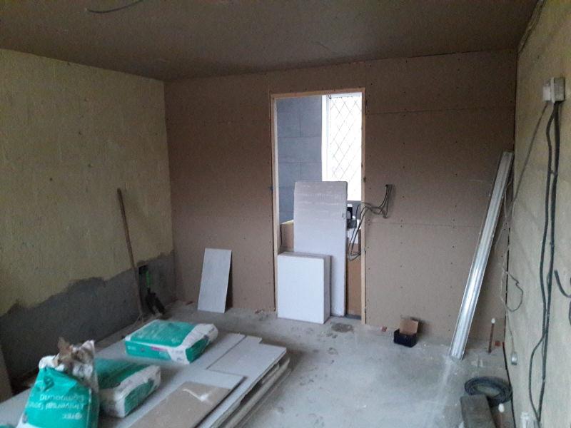 Garage conversion with ensuite in Poulton-le-Fylde