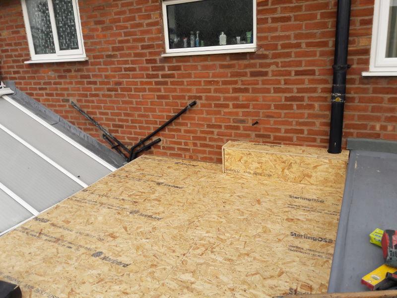 New GRP Fibreglass Roof Lytham St Annes