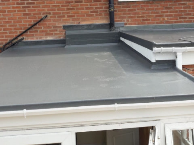New GRP fibre glass roof in Lytham St Annes