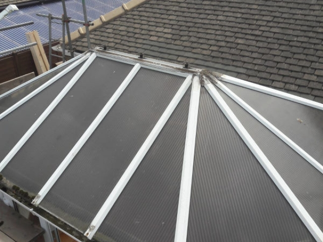 Old Conservatory Roof in Lancaster