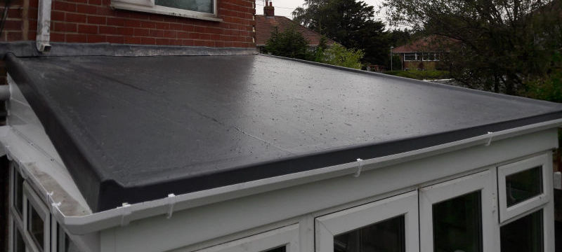 New GRP fibreglass conservatory roof