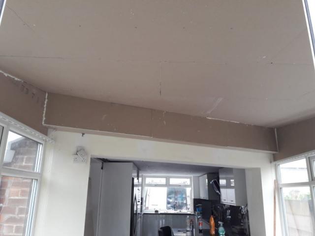 New internal roof