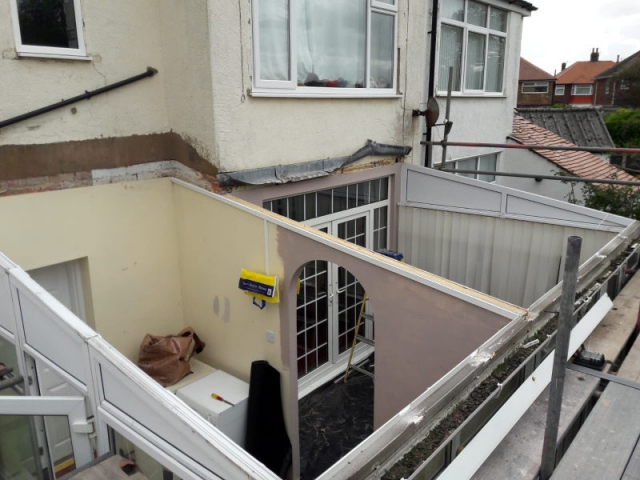 Conservatory Roof Removed