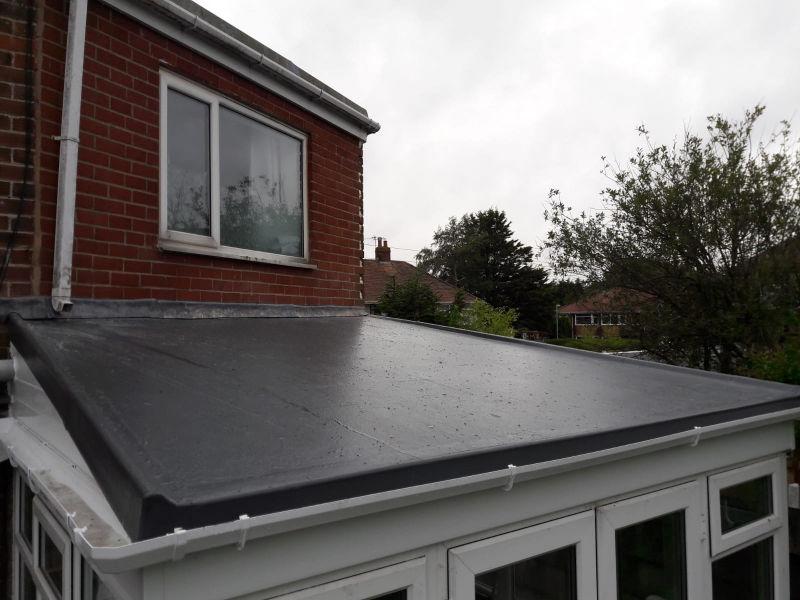 New GRP Fiberglass Roof in Poulton-Le-Fylde