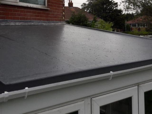 New GRP Fiberglass Roof Poulton-Le-Fylde