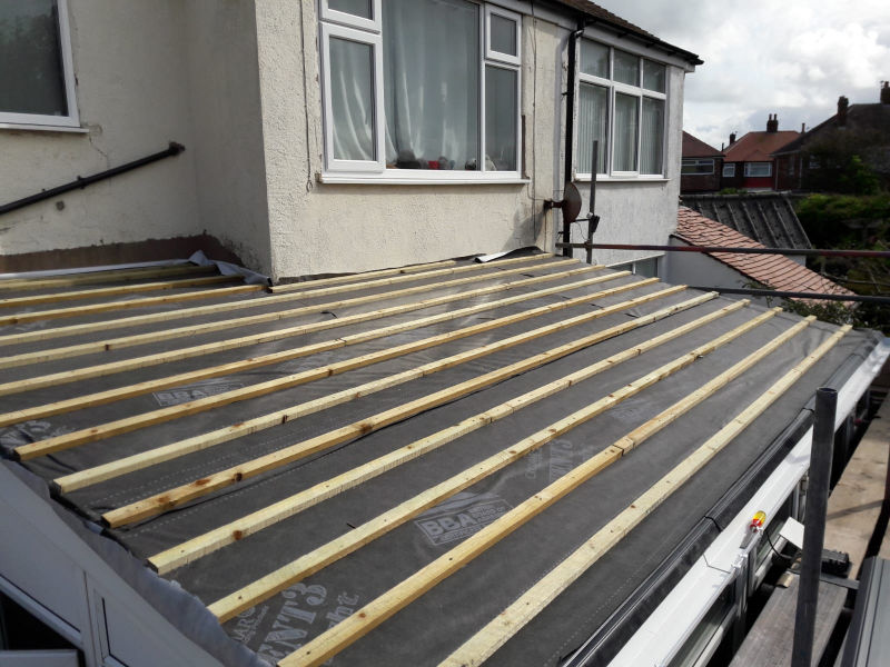 New roof being installed in Bispham