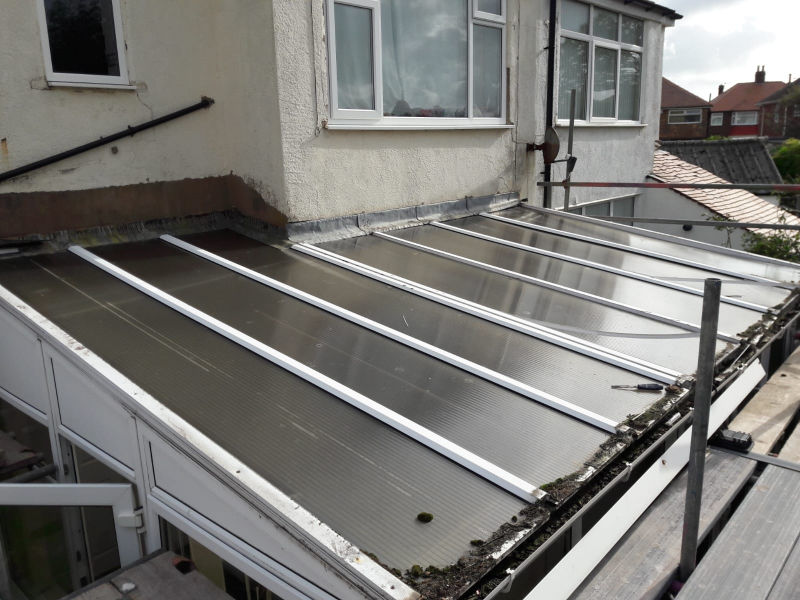 Old Conservatory Roof in Bispham
