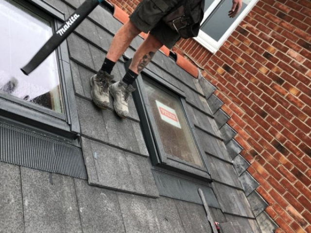 Full extension being carried out by Four Seasons Roof Systems