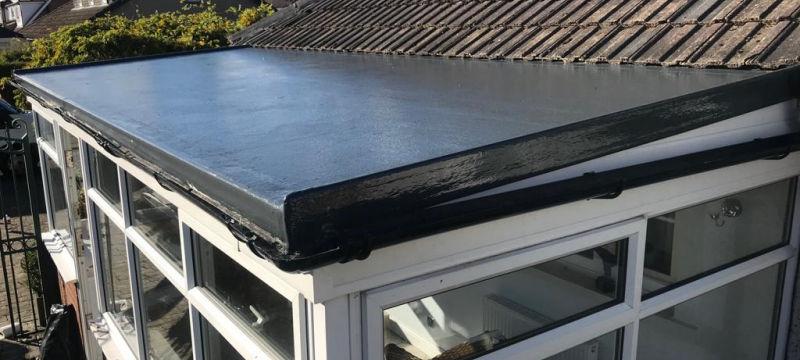 New GRP Fiberglass Roof Garstang