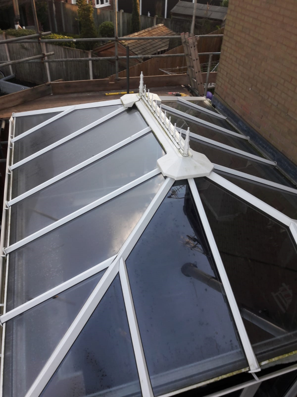 Old Conservatory Roof in Preston
