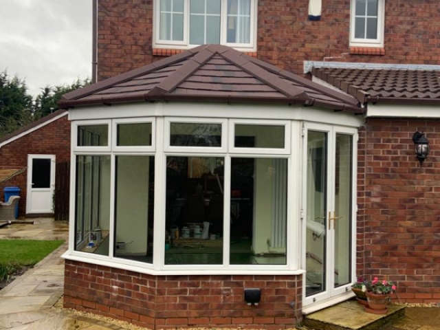 Replacement conservatory roof in Garstang