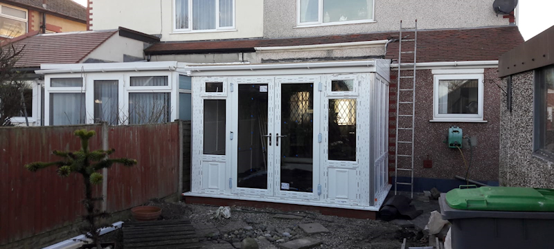 Replacement conservatory Cleveleys