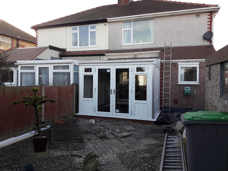 Replacement Conservatory in Cleveleys