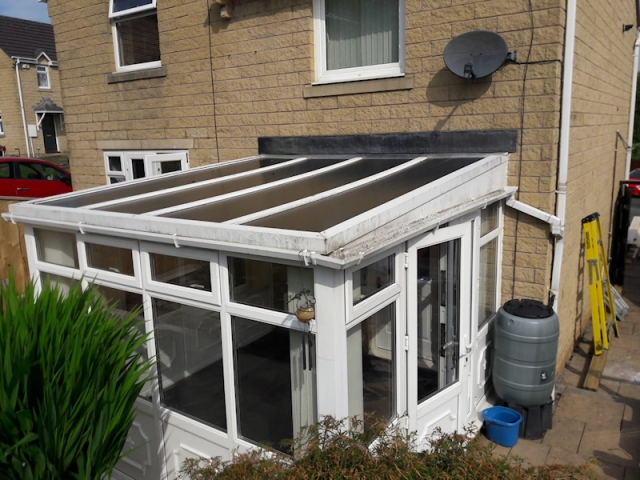 Old Conservatory Roof in Kirkham