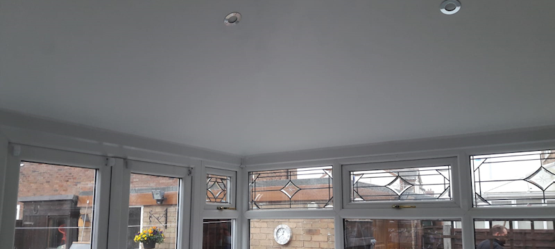 New conservatory roof Fleetwood