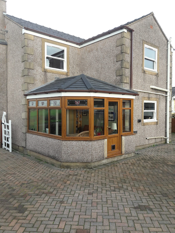 New conservatory roof in Cockerham