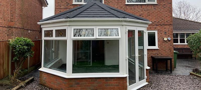 New conservatory roof Poulton-Le-Fylde
