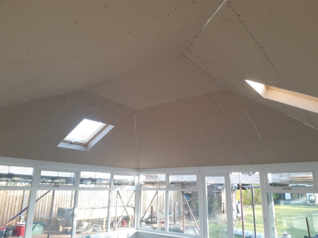 New Conservatory Roof in Fleetwood