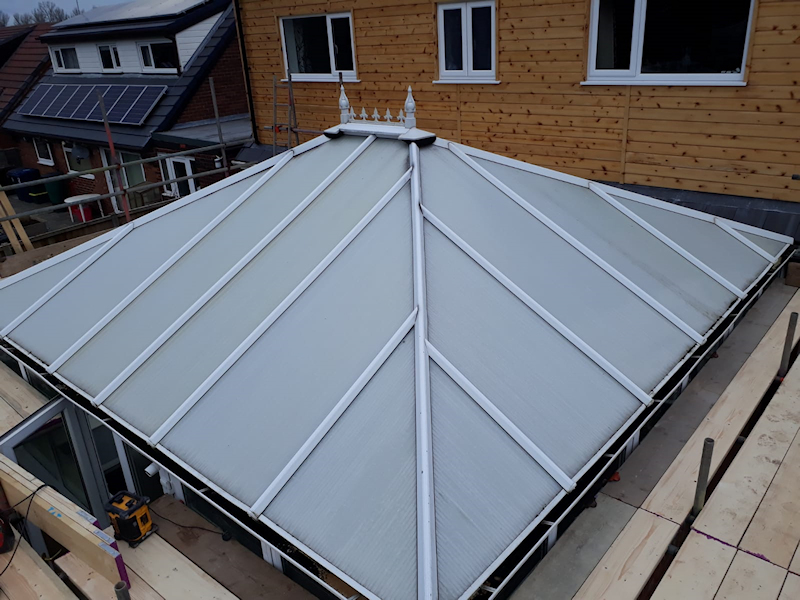 Old Conservatory Roof in Fleetwood